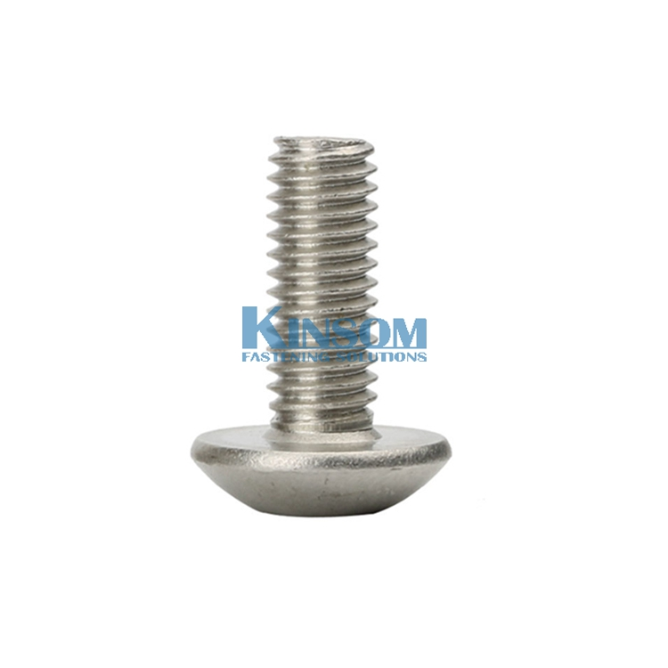 Button Pan Head Cap Stainless Steel Screw Hexagon Socket Machine Screws