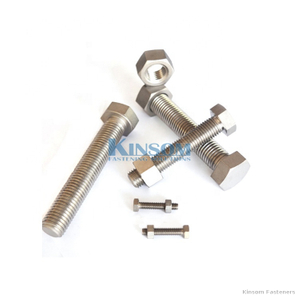 Stainless Steel bolt hex bolt with hex nuts