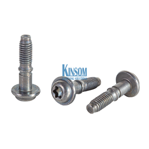 Cold Forging Custom Fasteners Torx Pan Head Flange Bolt