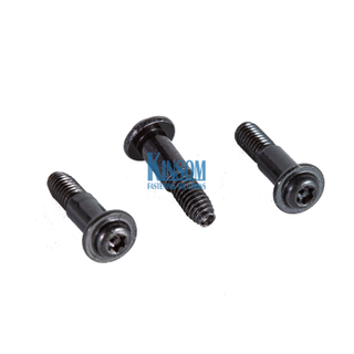 Custom Anti threft TORX flange triangle thread machine screws