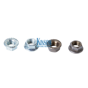 Hex Flange Nut Kinsom Custom Fasteners Automotive Industry Welding Nuts
